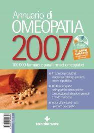 Tecniche Nuove - Annuario di Omeopatia 2007