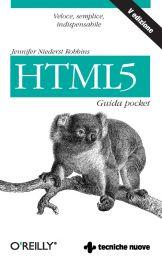 Tecniche Nuove - HTML5