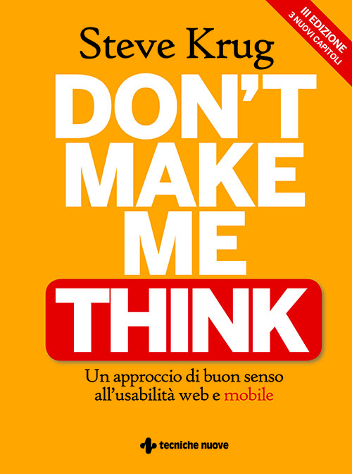 Tecniche Nuove - Don't make me think