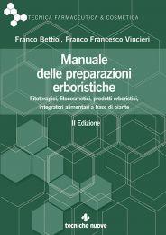Tecniche Nuove - Manuale delle preparazioni erboristiche