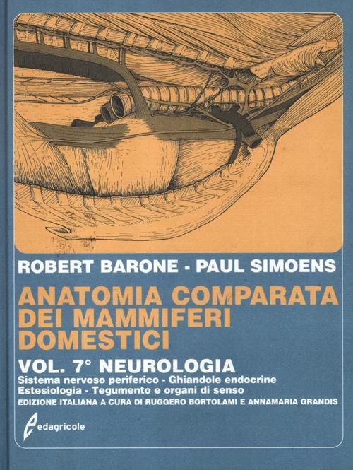Tecniche Nuove - Anatomia comparata dei mammiferi domestici - Volume 7