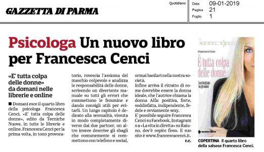 Francesca Cenci - Gazzetta di parma